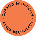 Curated by optician Klaus Berthelsen